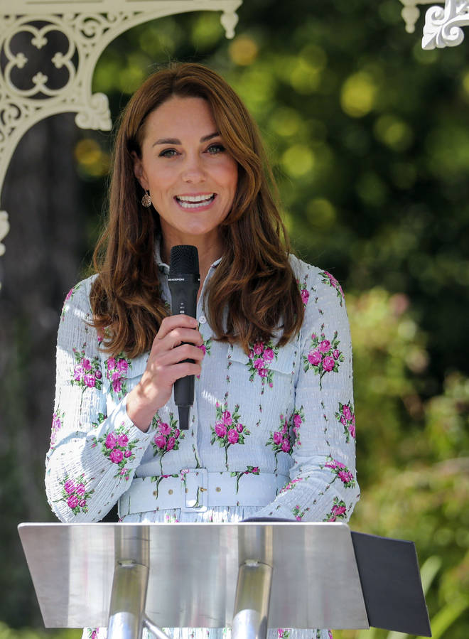 The Duchess of Cambridge was left laughing after one child's sassy comment