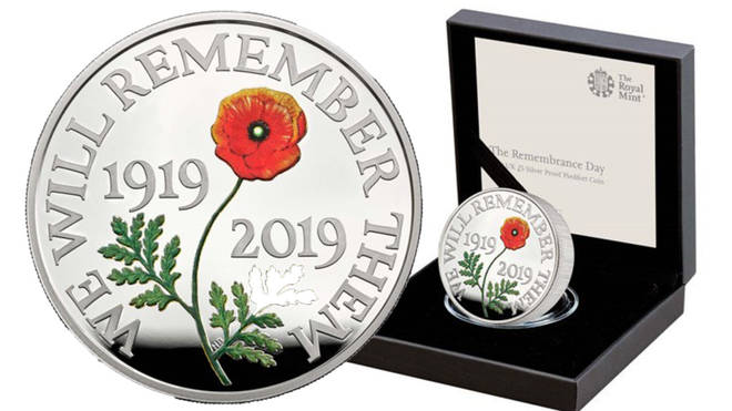 Royal Mint are marking 100 years of Remembrance Day