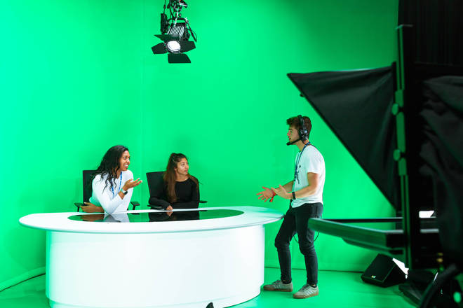 There are all the facilities students need to learn about all aspects of the media industry