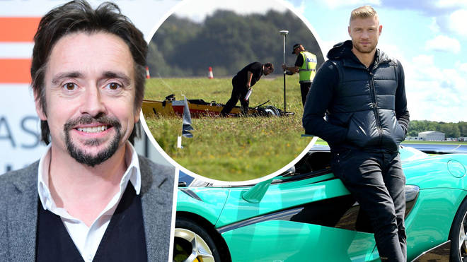 Freddie Flintoff crashed on the same runway Richard Hammond did back in 2006