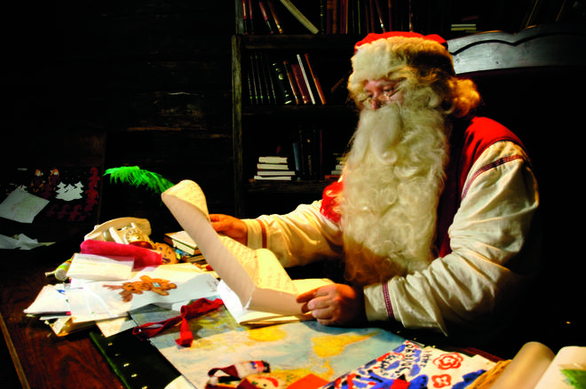You and your family could be meeting Father Christmas himself!