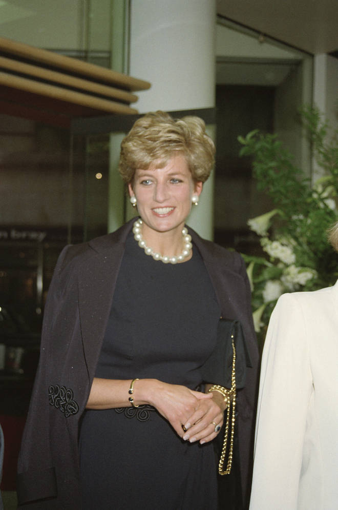 Princess Diana wore the bangle in 1994