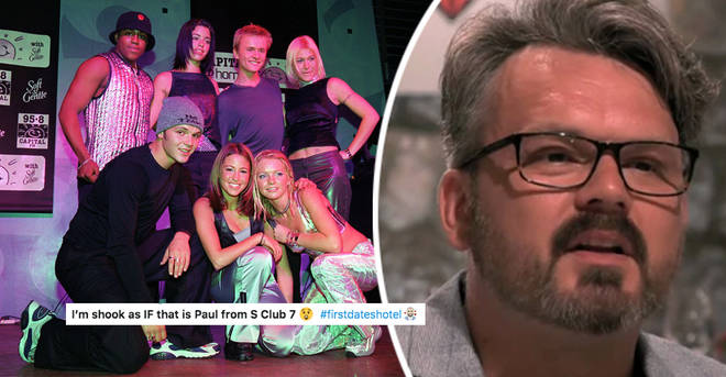S Club 7's Paul Cattermole shocks First Dates fans with 'unrecognisable' appearance as he breaks down over...