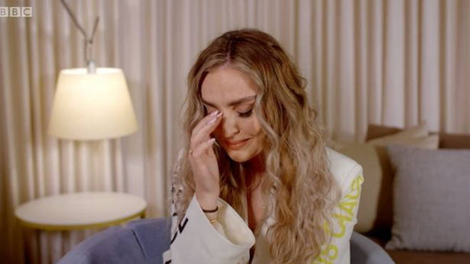 Perrie Edwards also broke down over her friend on the documentary
