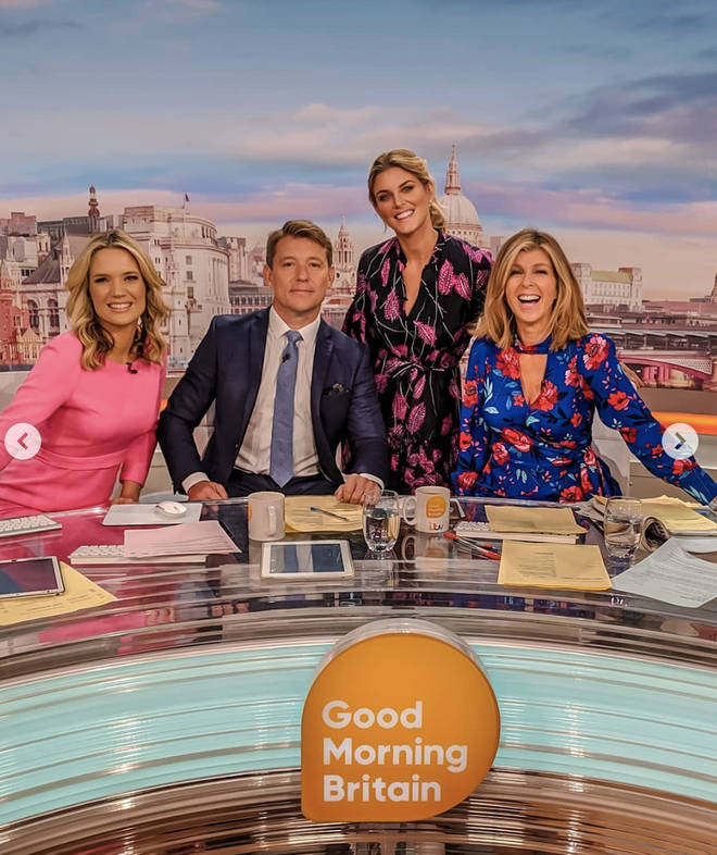 Ashley joined the Good Morning Britain team today