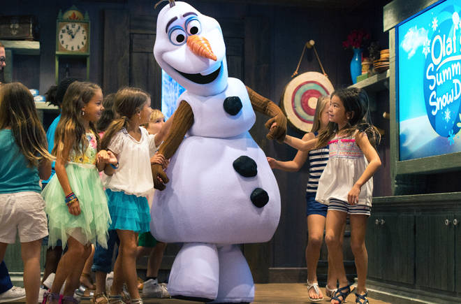 The Frozen area will give visitors a chance to meet their favourite characters