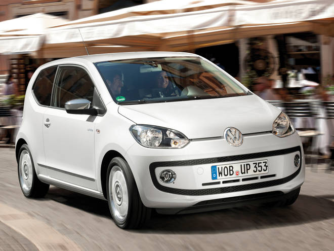 You could be driving around in the Volkswagen Up!
