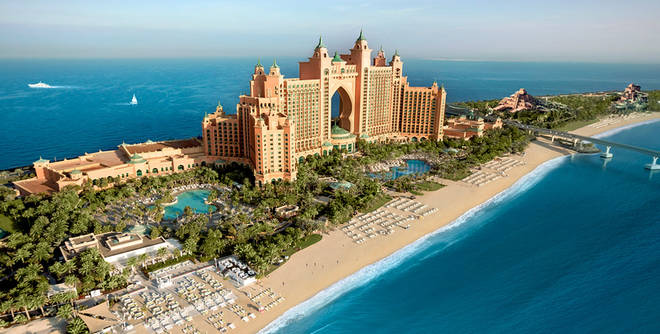 The sights of Dubai await if you win this Triple Prize!