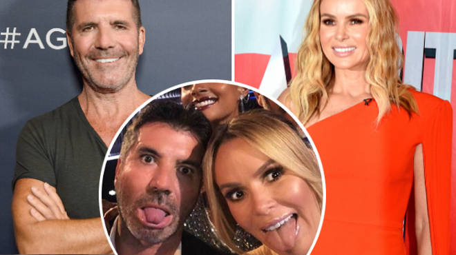 Simon Cowell admits he and Amanda Holden overdid it with cosmetic procedures in their earlier years.