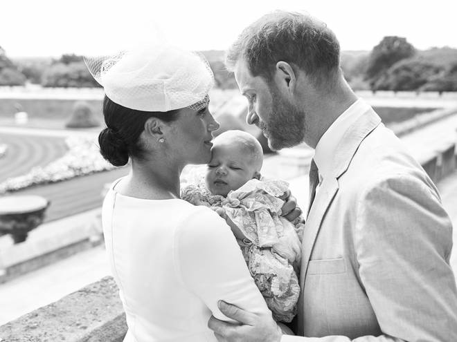 """Meghan says """"amazing dad"""" Prince Harry inspires her every day."""