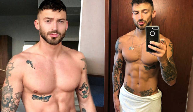 Jake Quickenden left fans hot under the collars