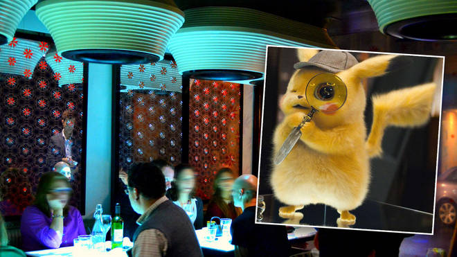 Detective Pikachu is loose in Inamo as part of a special event