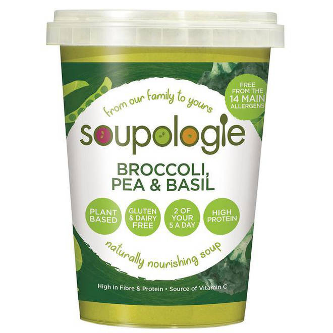 Broccoli, Pea & Basil soup was also recalled