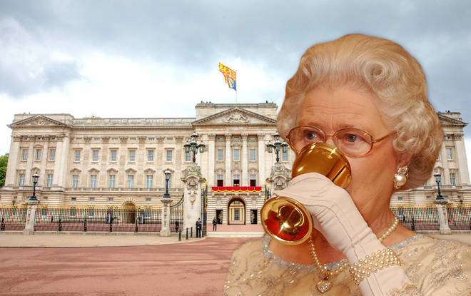 The Queen loves a good drink every now and again