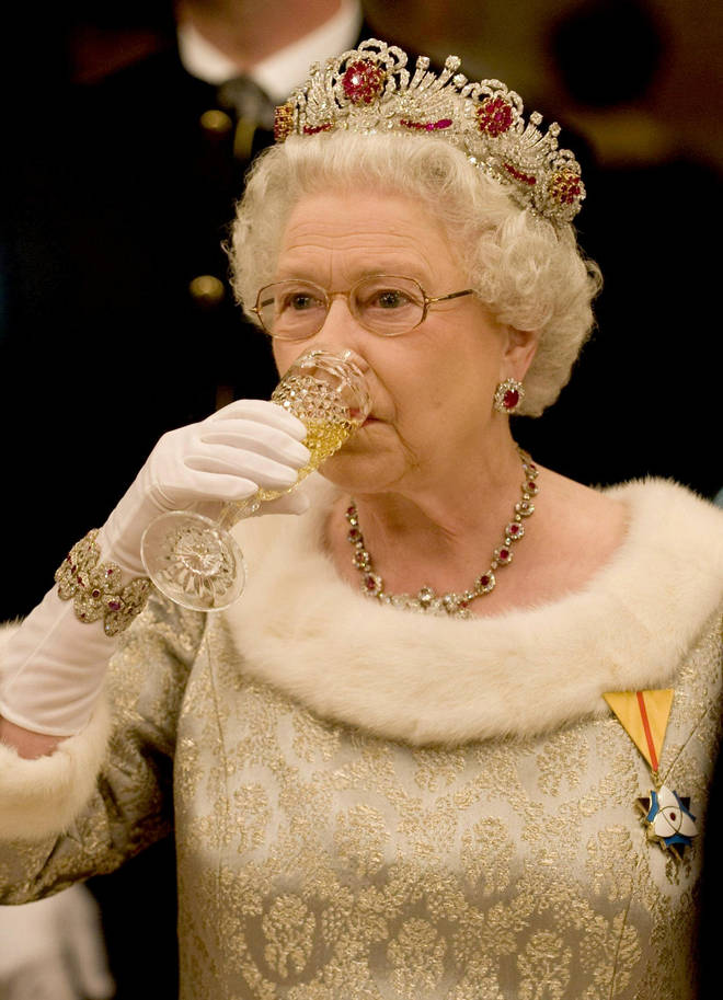 The Queen enjoys a tipple every now and again