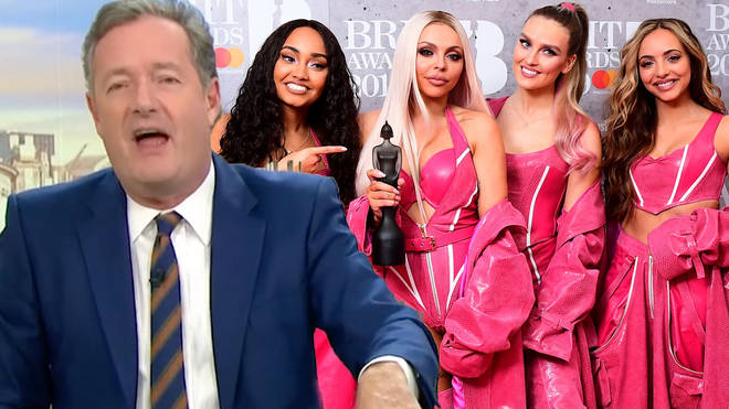 Piers Morgan and Little Mix appear to be at war once again