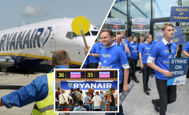 How to check if your flight is affected by Ryanair's pilot walkouts.