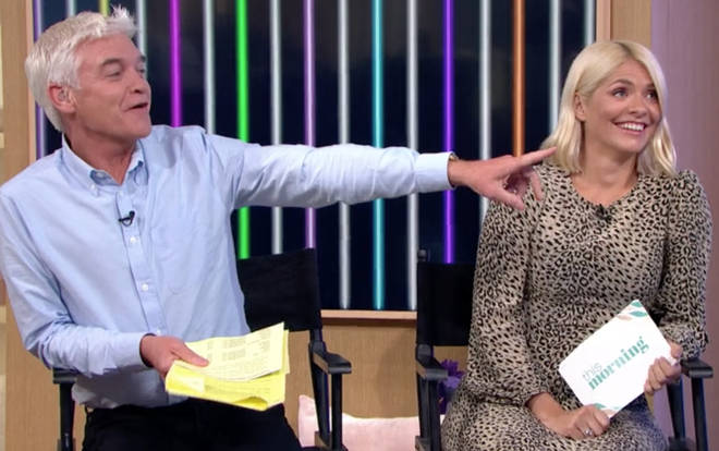 Holly Willoughby raised her eyebrows as she misheard 'camel tone'