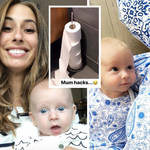 Stacey Solomon shared the handy mum hack with her Instagram followers.