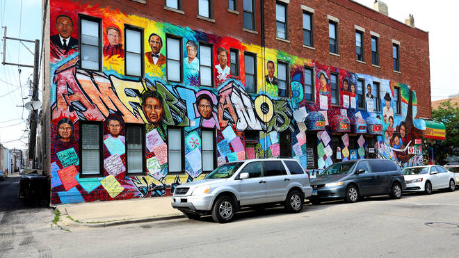 The Pilsen neighbourhood in Chicago, Illinois made the list.