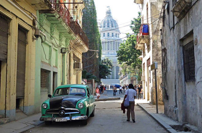 Old Havana's historic quarter came in at number 39.