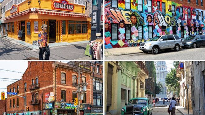 Travel experts have listed the coolest neighbourhoods from across the globe.