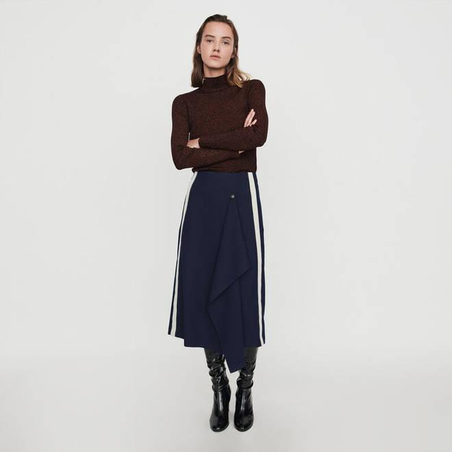 The Maje Paris skirt is a bit of a splurge