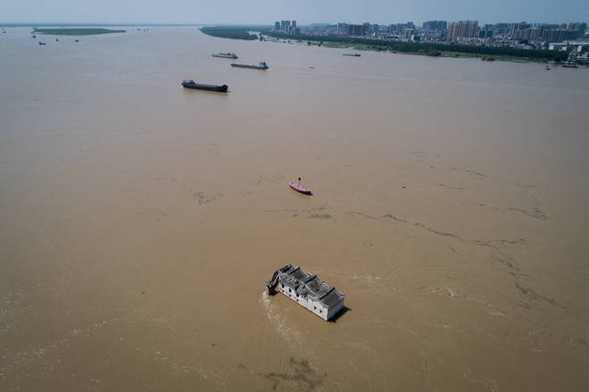 China's Yangtze River is one of the most polluted in the country
