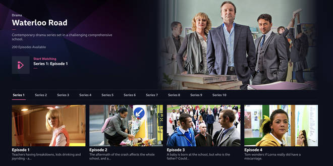 You can watch 20 episodes on the iPlayer