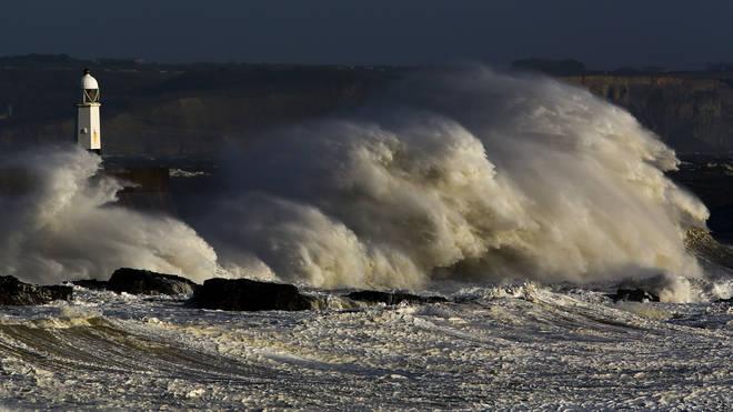 Hurricane Humberto will move across the Atlantic over the next few days.