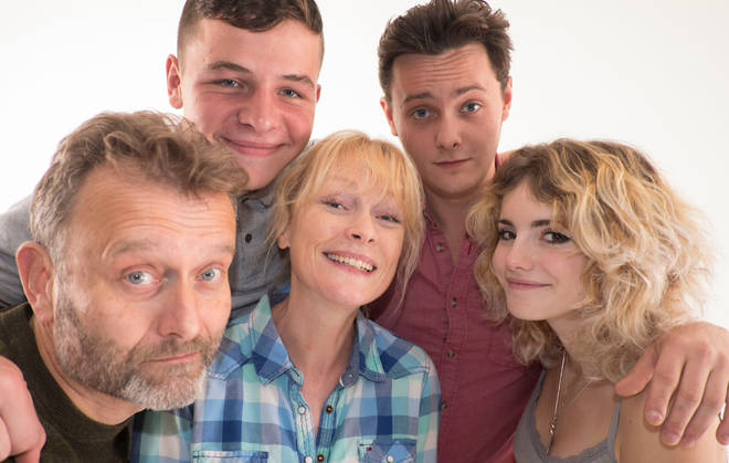 Claire and Hugh met on the set of Outnumbered