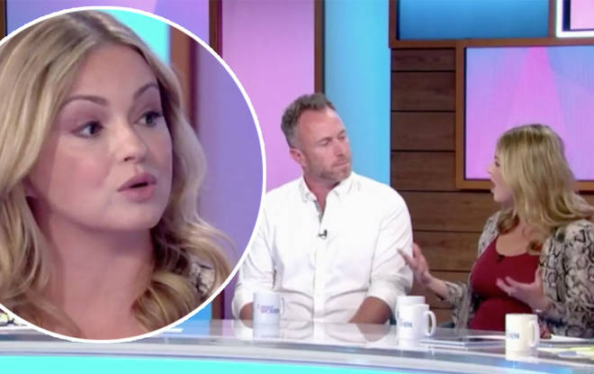Ola and James Jordan open up about their IVF struggles and that she 'couldn't tell him' she was pregnant