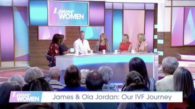 The pair joined the Loose Women panel