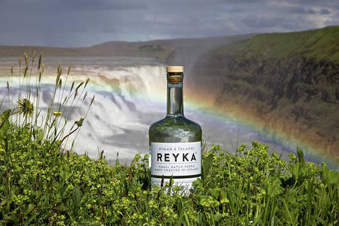 Reyka Vodka is distilled in Iceland - right where the pop-up bar will be located