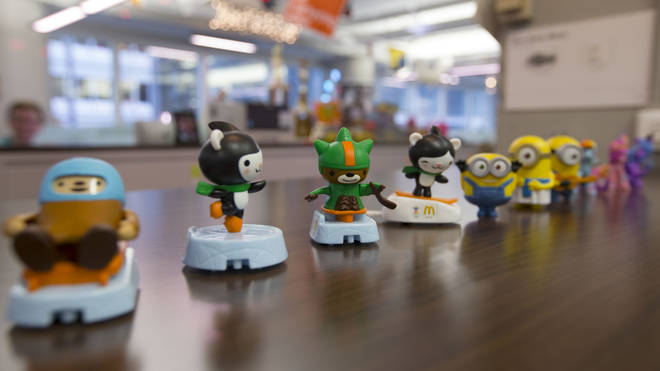 The fast food giants are scrapping single-use plastic toys to cut down on waste.