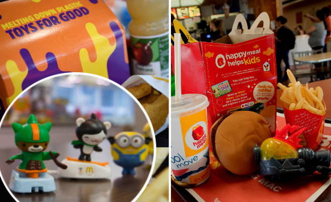 Plastic toys at McDonald's and Burger King are getting scrapped.