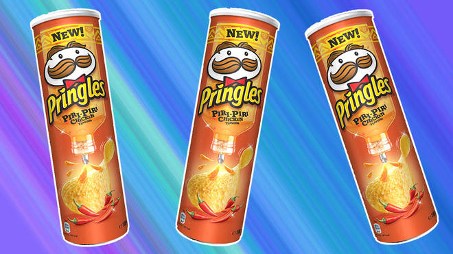 Pringles' Nandos-inspired new flavour was a hit with the Heart.co.uk team