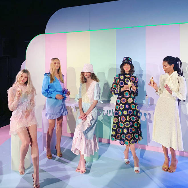 The entire show was dreamy, and akin to a Taylor Swift video