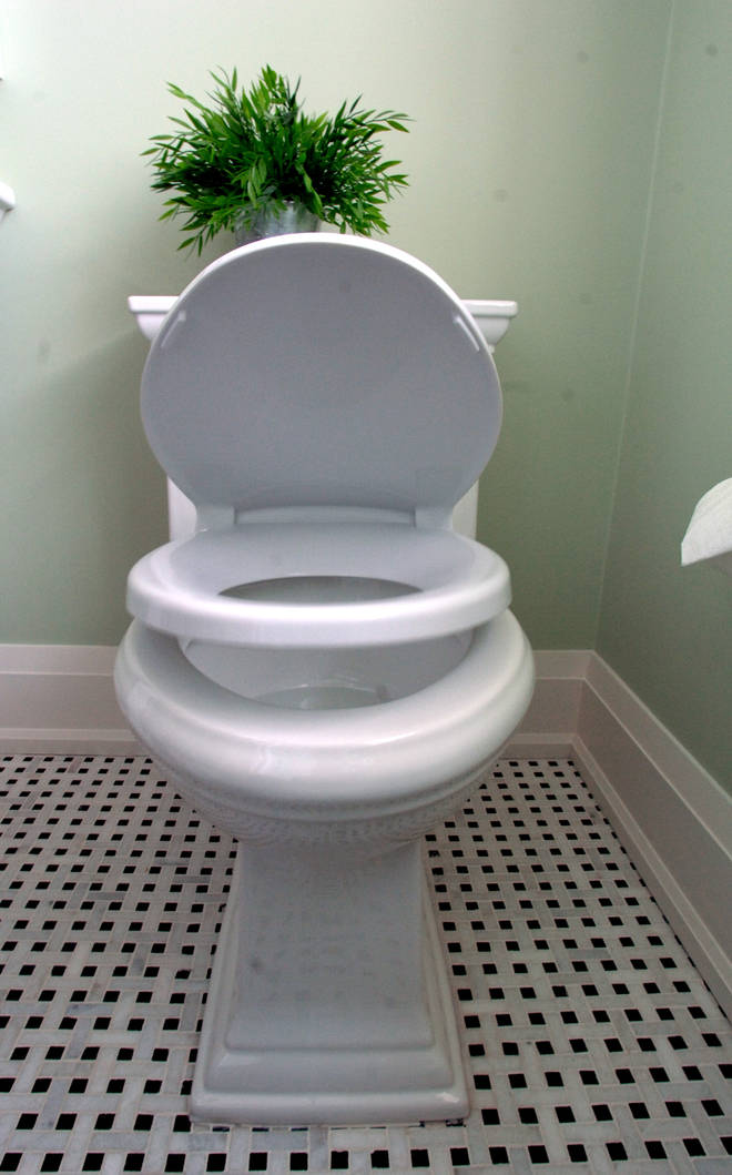 Parking your backside on the toilet seat for a lengthy period of time isn't advised.