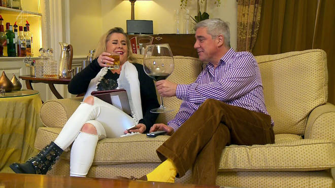 Steph and husband Dom rose to fame on Gogglebox