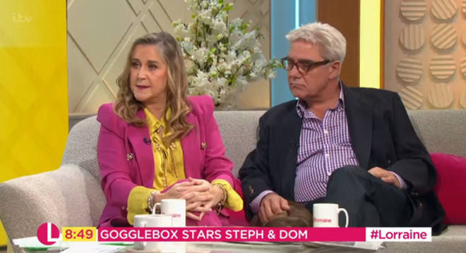 Steph spoke about her recent illness on Lorraine