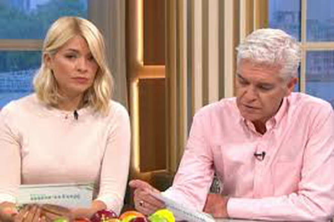 Phil and Holly won't be gracing our screens today because of the World Cup