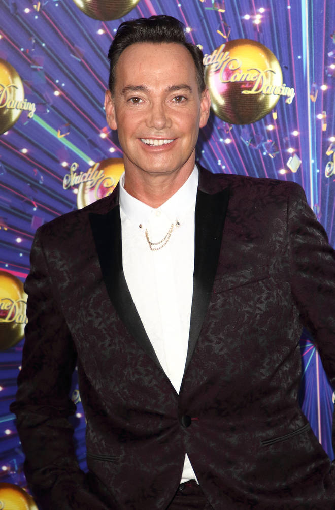 Craig called his role on Strictly 'a Saturday job'