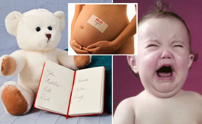 The UK's most hated baby names have been revealed.