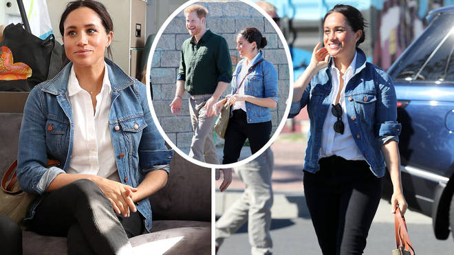 Meghan Markle looked stunning in a casual outfit for the second day of the Royal Tour