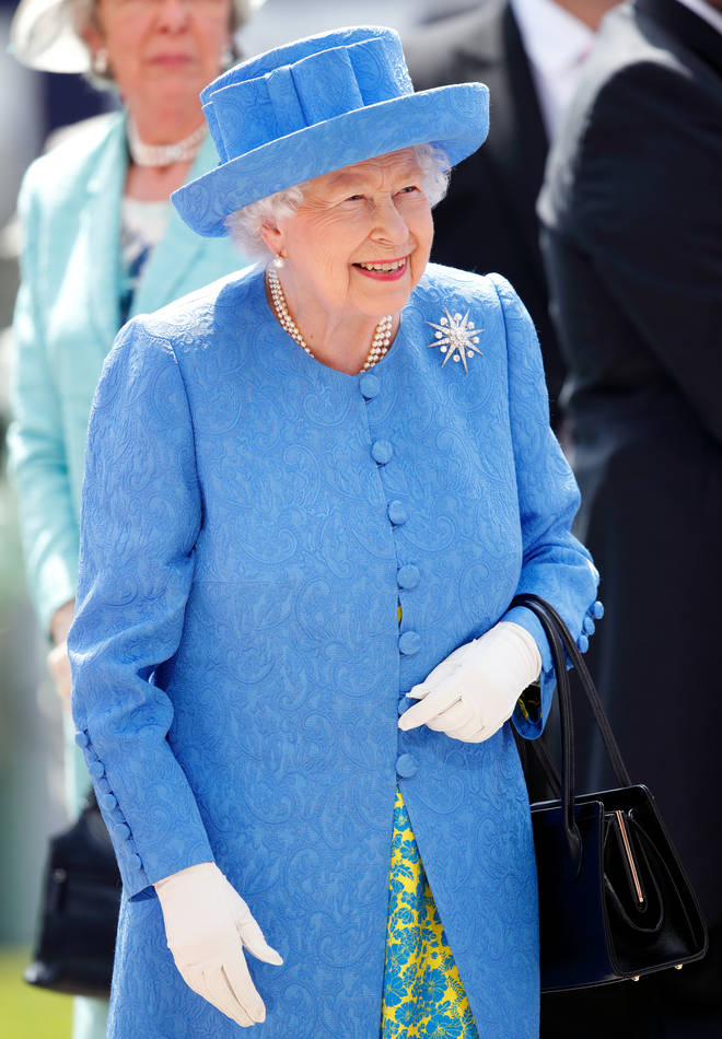 Her Majesty turns to Angela's designs for most of her royal engagements