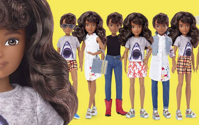 Barbie's parent brand Mattel has just launched a gender-neutral range of dolls