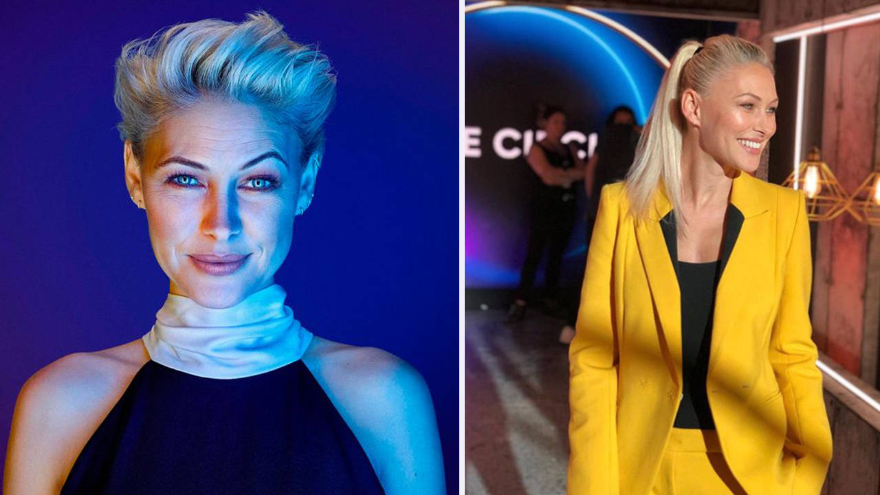 Fans Go Wild For Emma Willis New Long Hair Do At The Circle Launch Heart