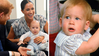 Baby Archie is the spitting image of Prince Harry