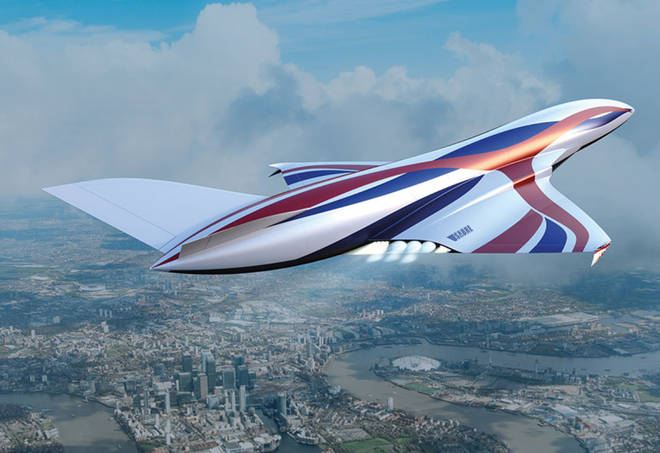 The hypersonic engine is being developed in Britain.